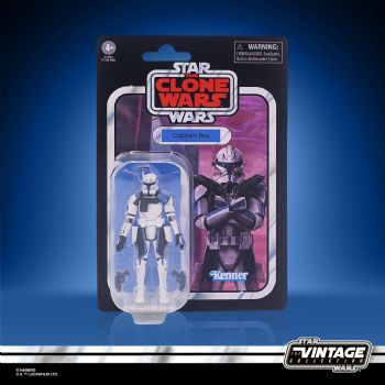 Star Wars The Vintage Collection Clone Wars Captain Rex Action Figure - Pre-Order
